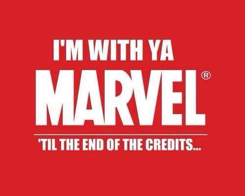 I'm With Ya MARVEL